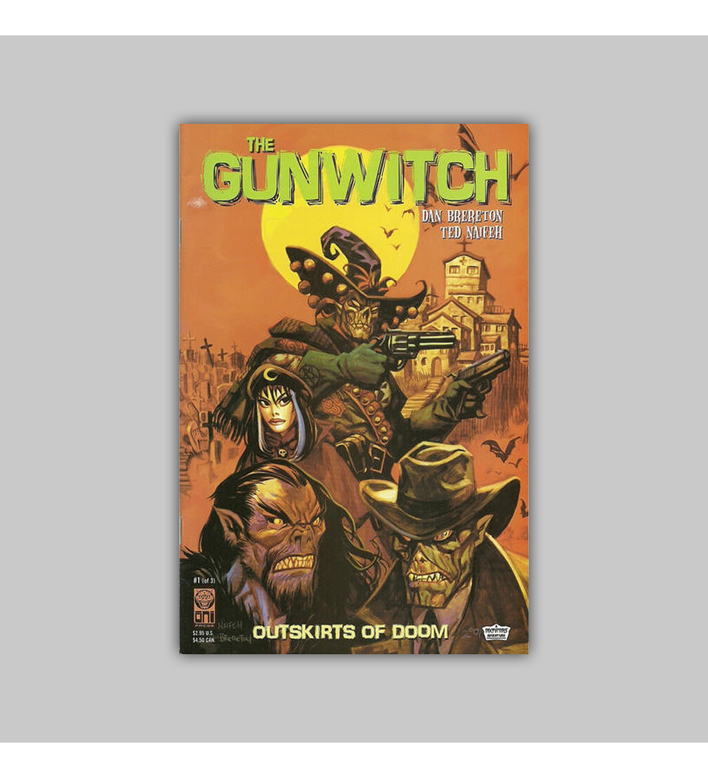 Gunwitch: Outskirts of Doom (complete limited series) 2001