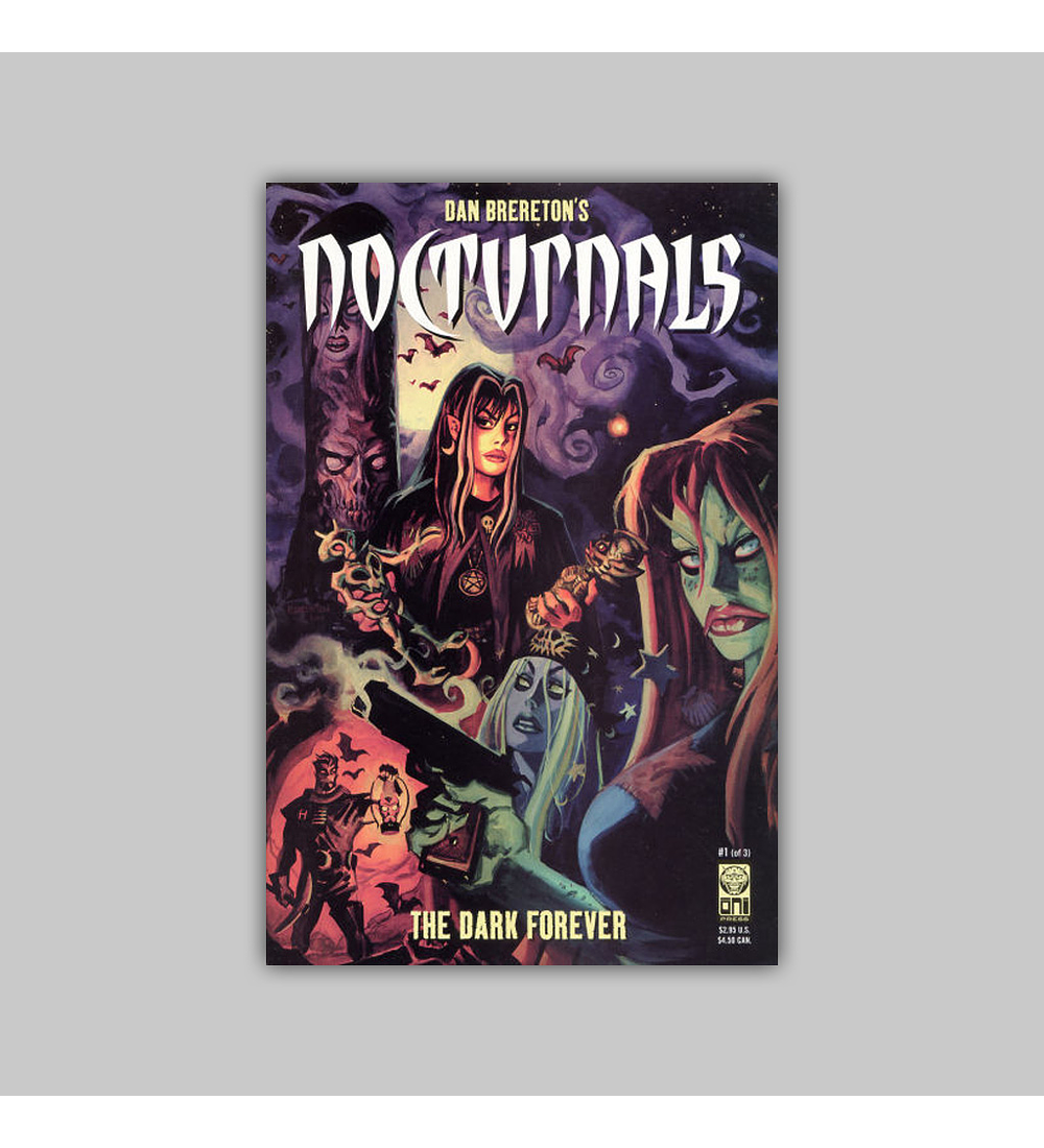 Nocturnals: The Dark Forever (complete limited series) 2002