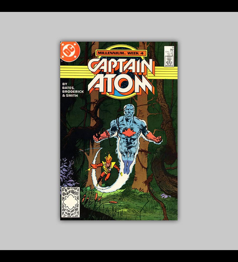 Captain Atom 11 VF/NM (9.0) 1988