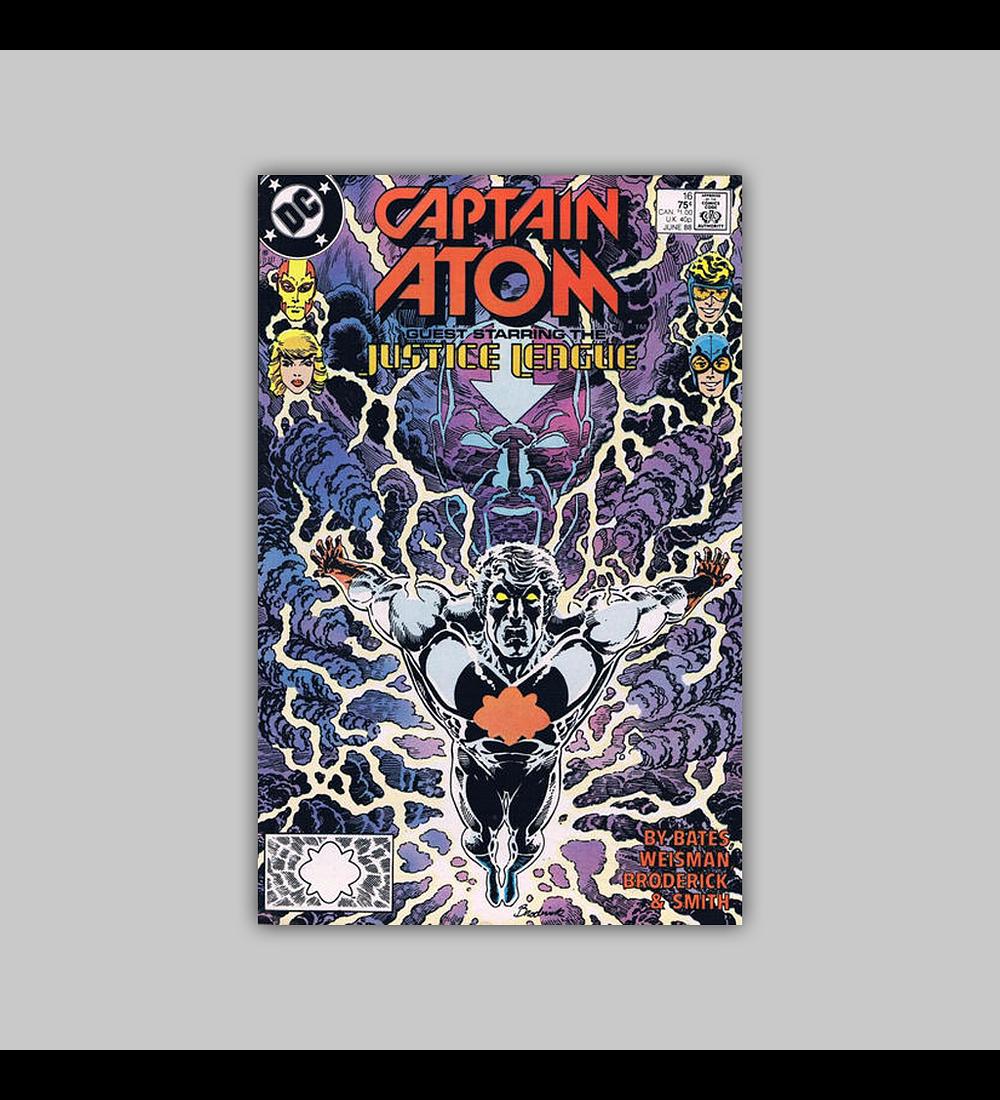 Captain Atom 16 VF/NM (9.0) 1988