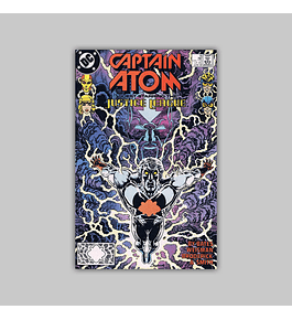 Captain Atom 16 VF/NM (9.0) 1988