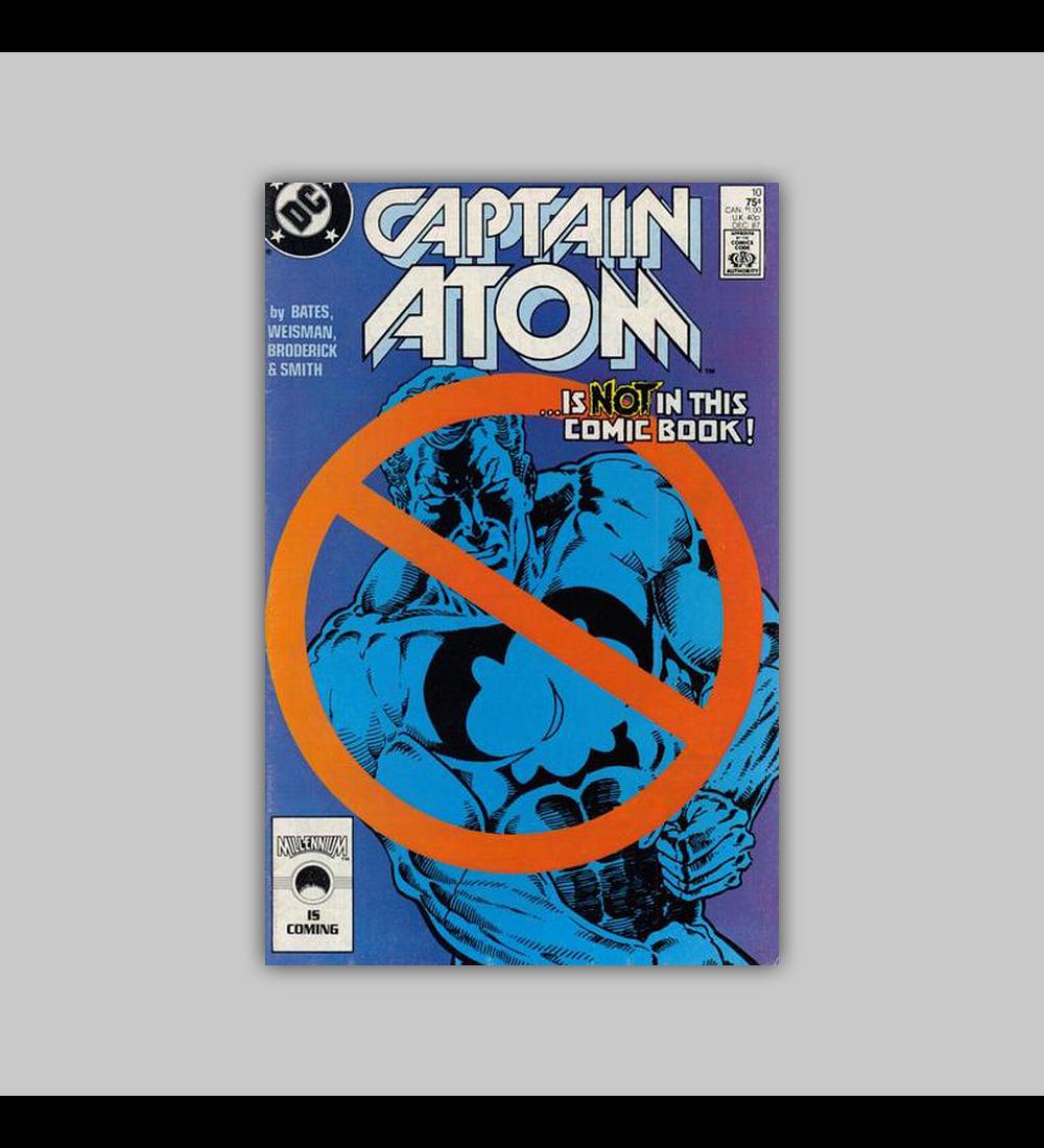 Captain Atom 10 VF/NM (9.0) 1987