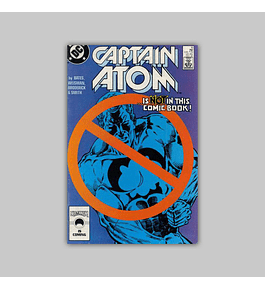Captain Atom 10 VF/NM (9.0) 1987