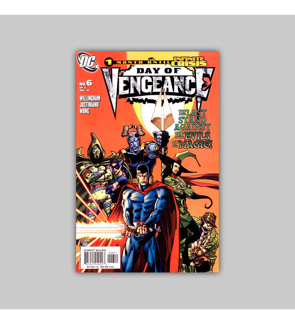 Day of Vengeance: Infinite Crisis Special (complete limited series) 2006