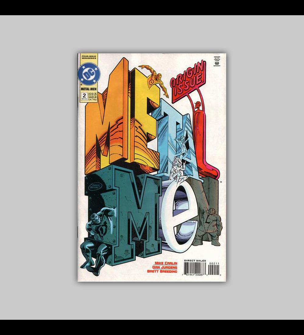 Metal Men (complete limited series) 1994