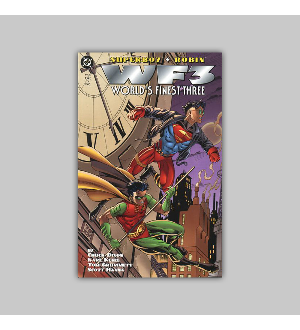 Superboy/Robin: World's Finest Three (complete limited series) 1996