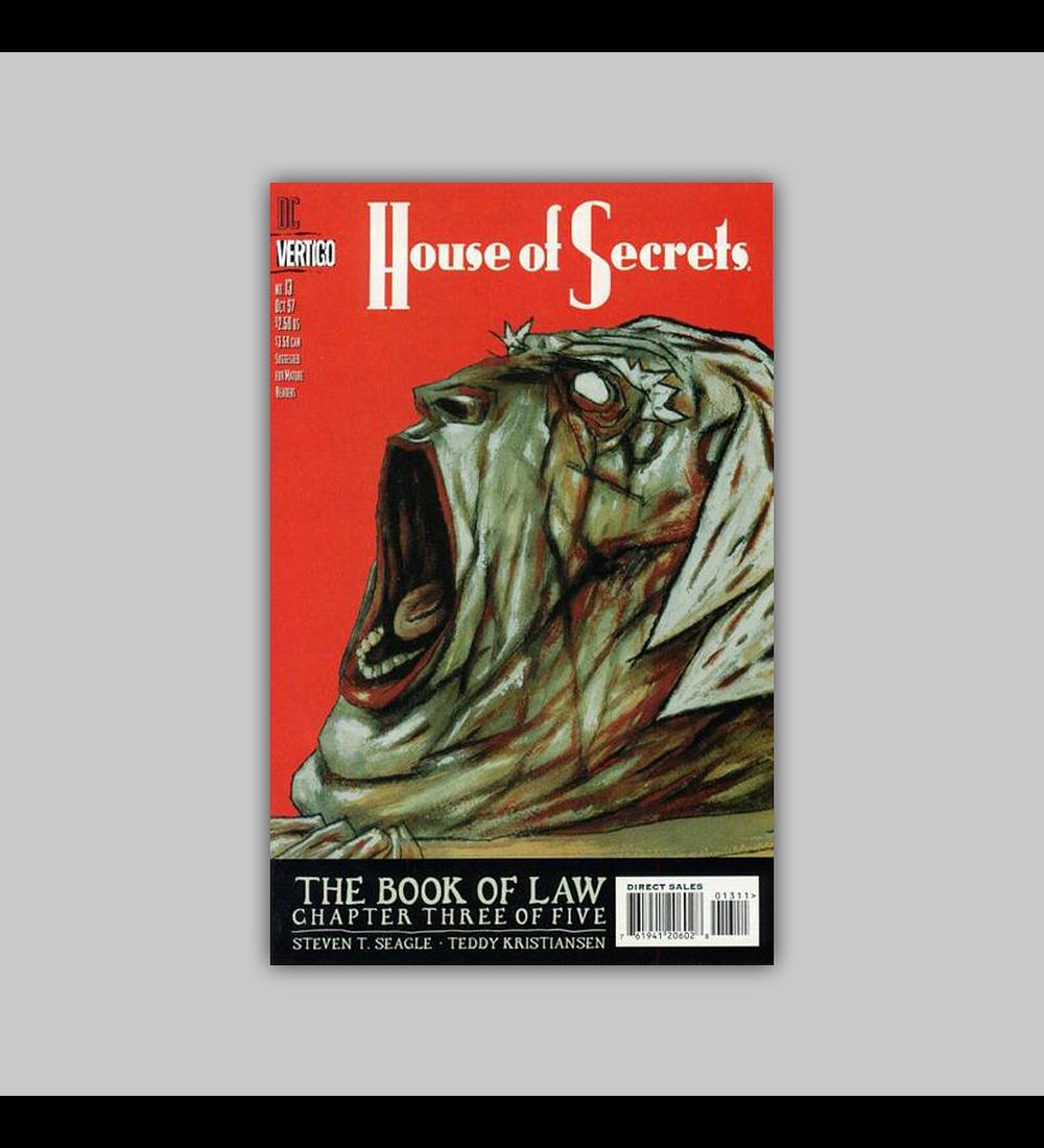House of Secrets 13 1997