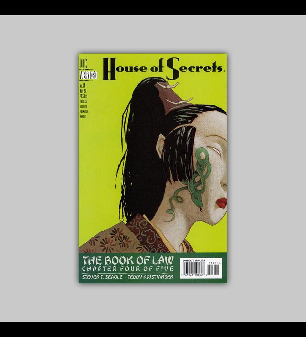 House of Secrets 14 1997