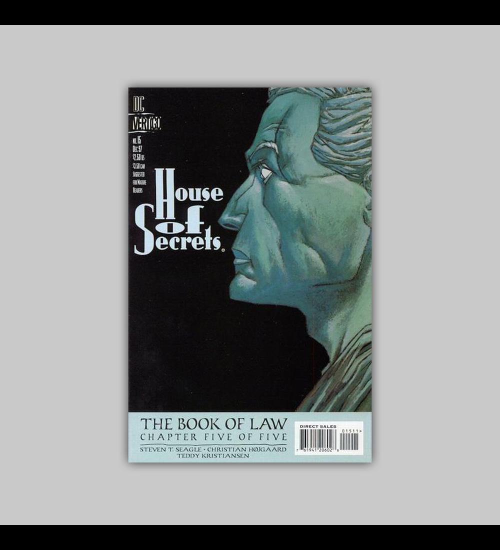 House of Secrets 15 1997