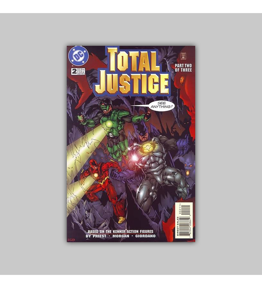 Total Justice (complete limited series) 1996