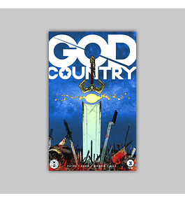 God Country 3 2nd printing 2017