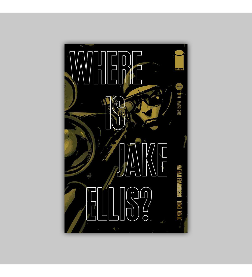 Where Is Jake Ellis? 3 2013