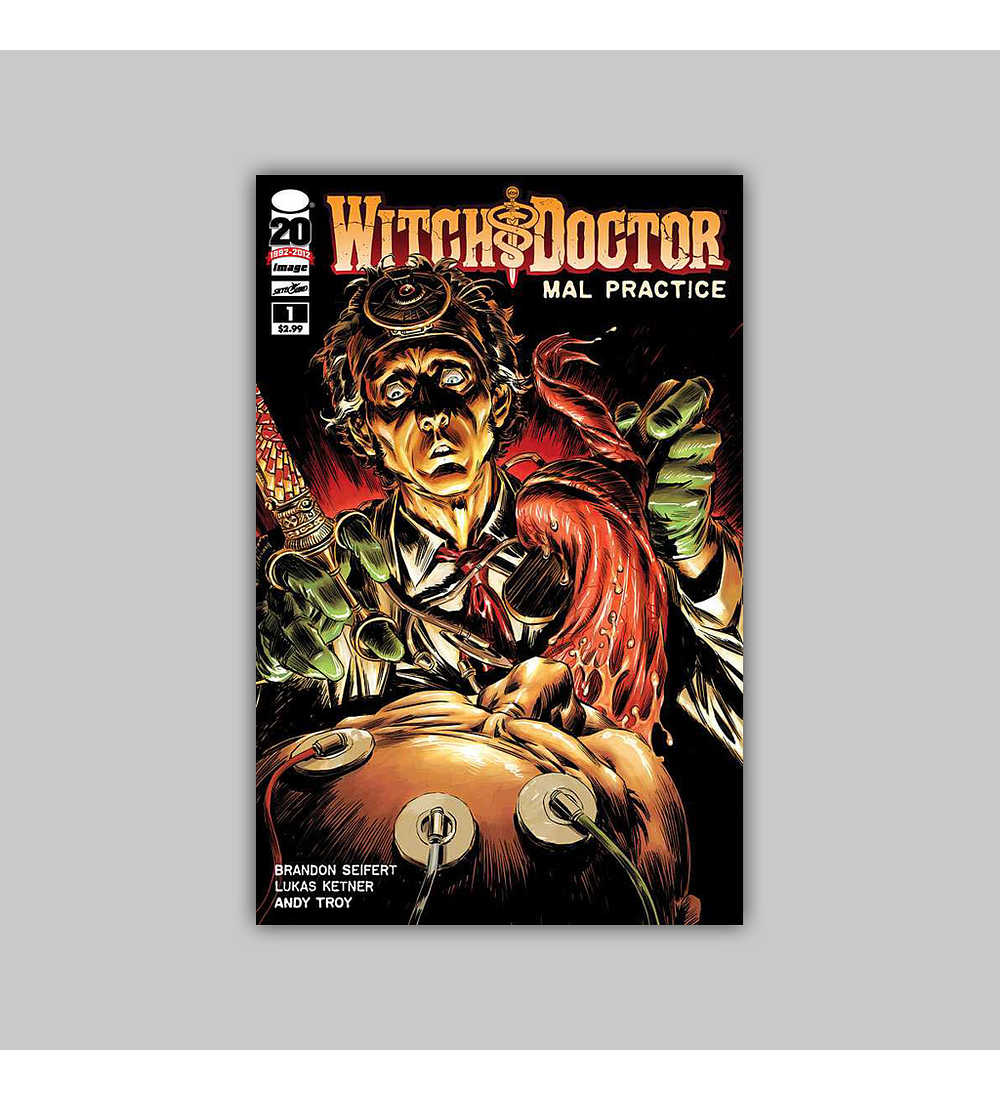 Witch Doctor: Mal Practice (complete limited series) 2012