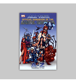All-New Official Handbook of the Marvel Universe A to Z 10 2006