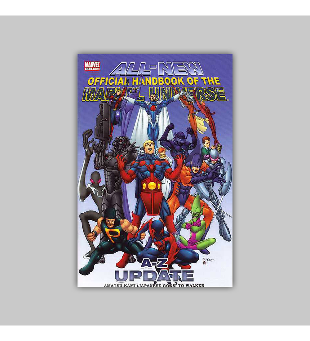All-New Official Handbook of the Marvel Universe A to Z: Update 1 2007
