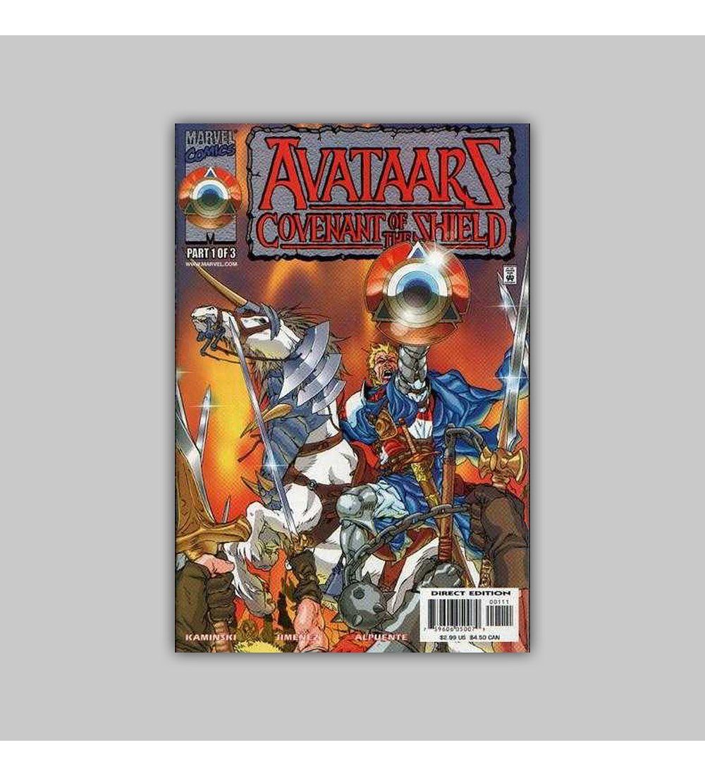 Avataars: Covenant of the Shield (complete limited series) 2000