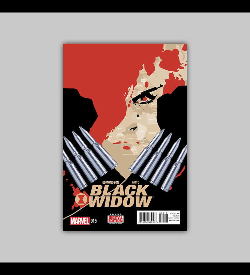 Black Widow (Vol. 3) 15 2015