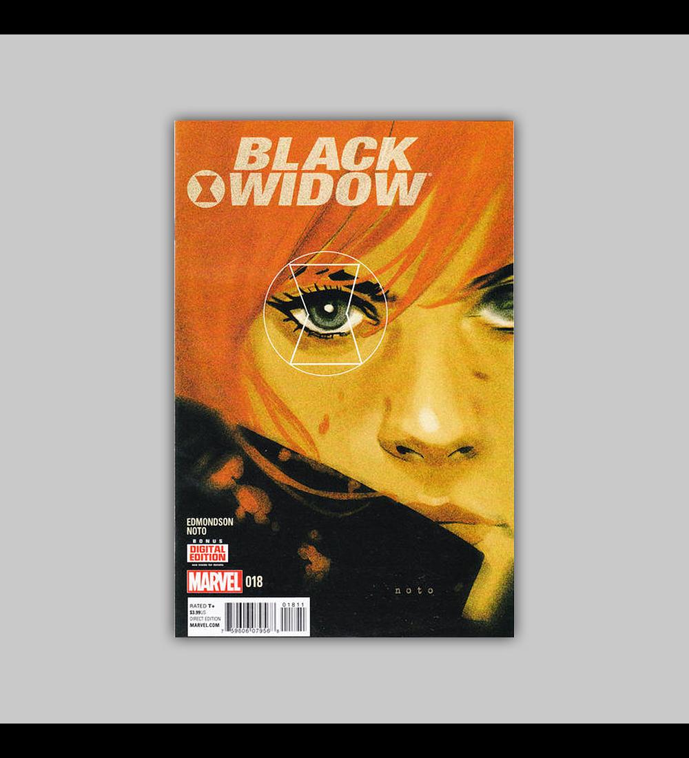 Black Widow (Vol. 3) 18 2015