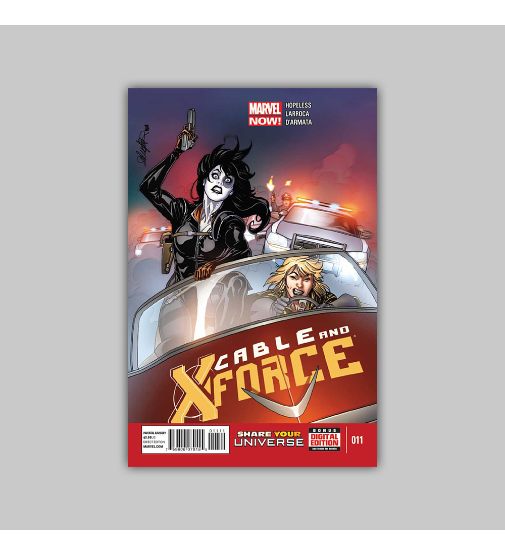 Cable and X-Force 11 2013