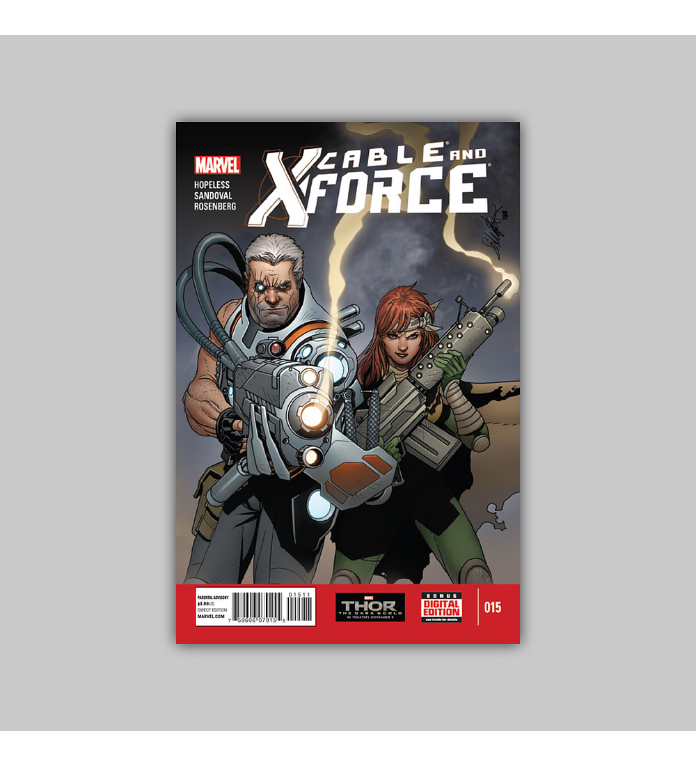 Cable and X-Force 15 2013