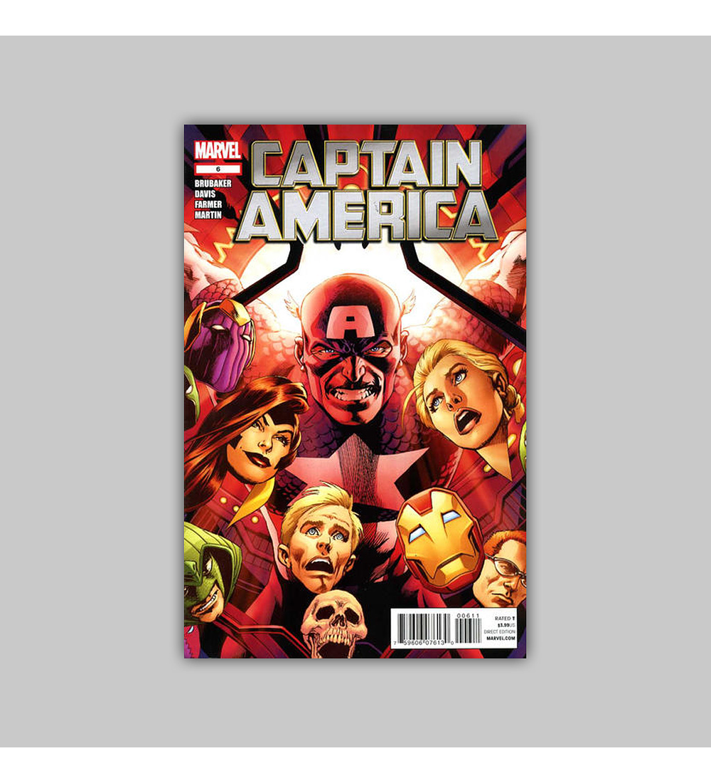 Captain America (Vol. 6) 6 2012