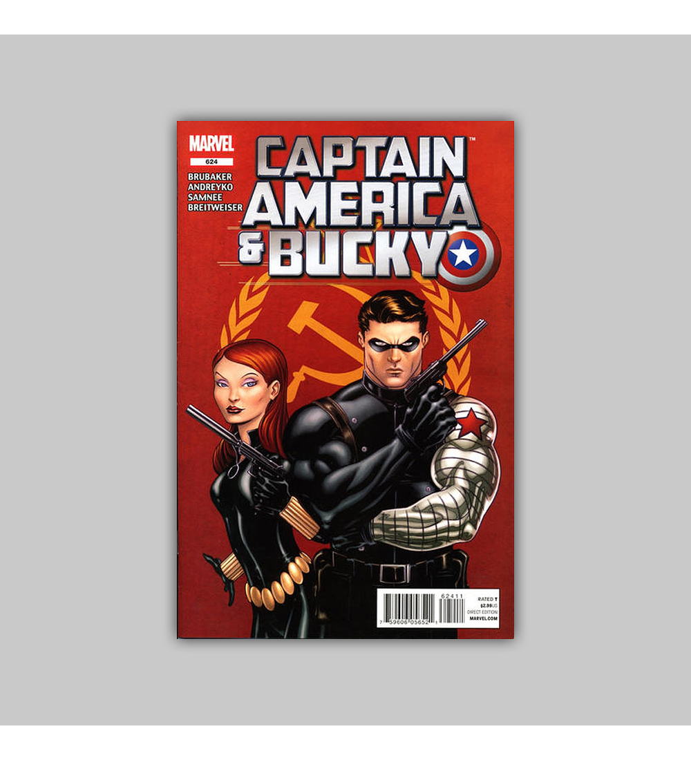 Captain America and Bucky 624 2012