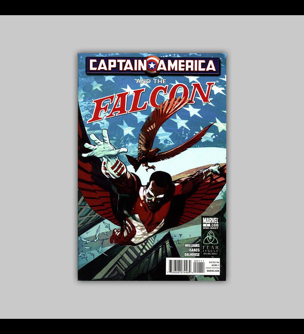 Captain America and Falcon 1 2011