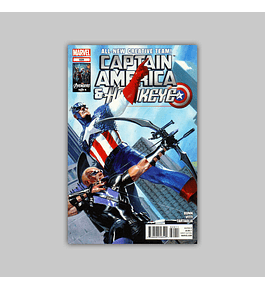 Captain America and Hawkeye 629 2012