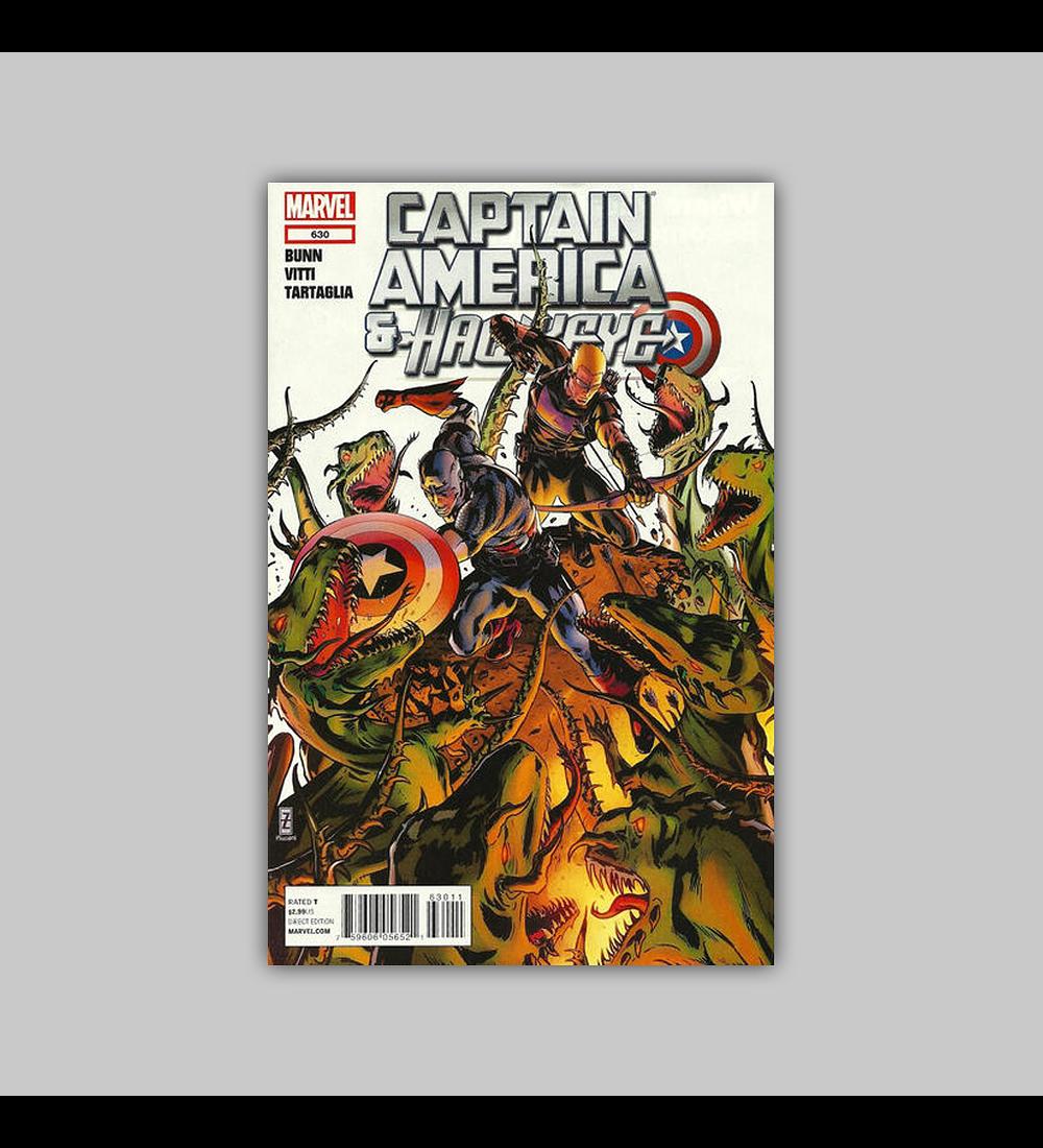 Captain America and Hawkeye 630 2012