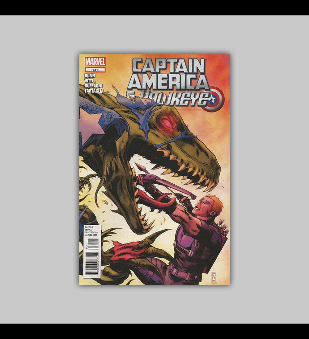 Captain America and Hawkeye 631 2012