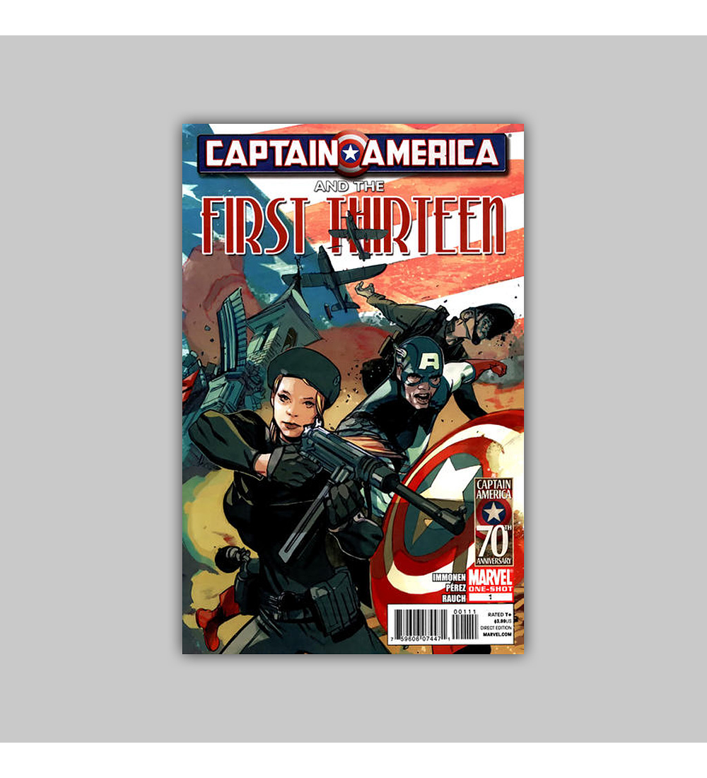 Captain America and the First Thirteen 1 2011