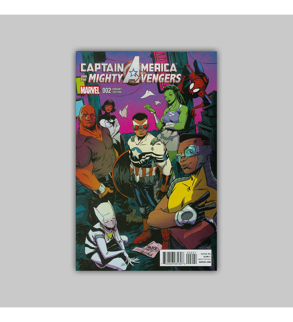 Captain America and the Mighty Avengers 2 B 2015