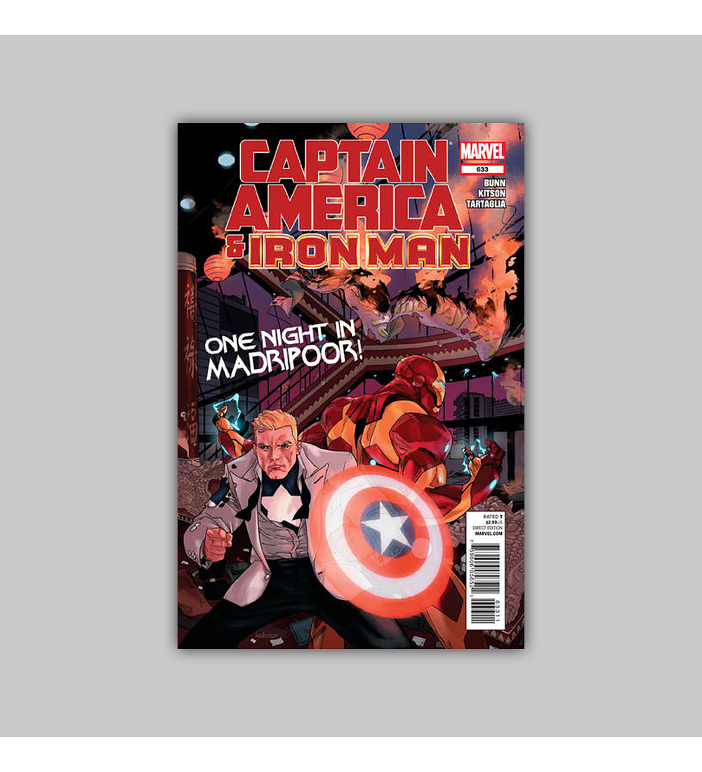 Captain America and... 633 2012