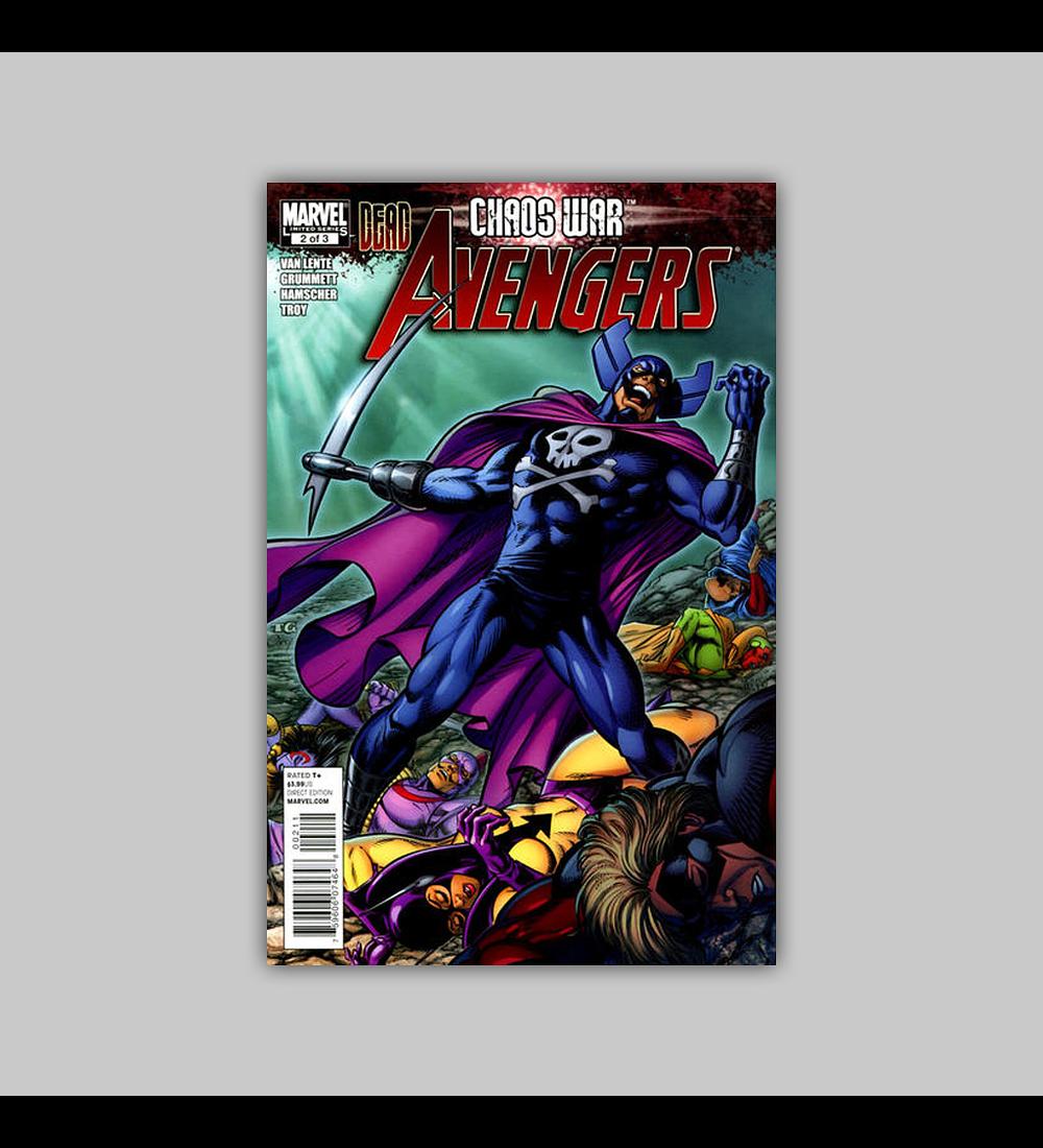 Chaos War: Dead Avengers 2 2011