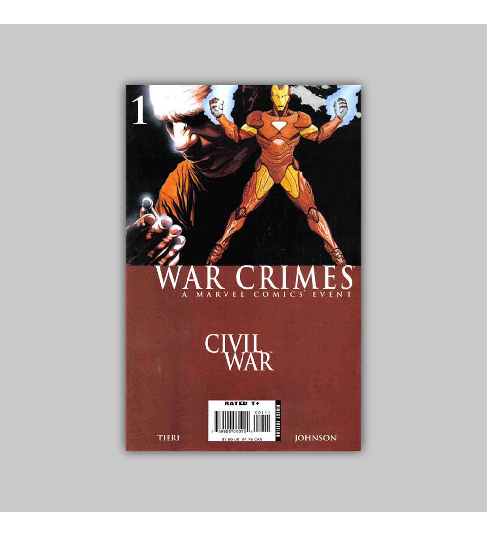 Civil War: War Crimes One-Shot 2007
