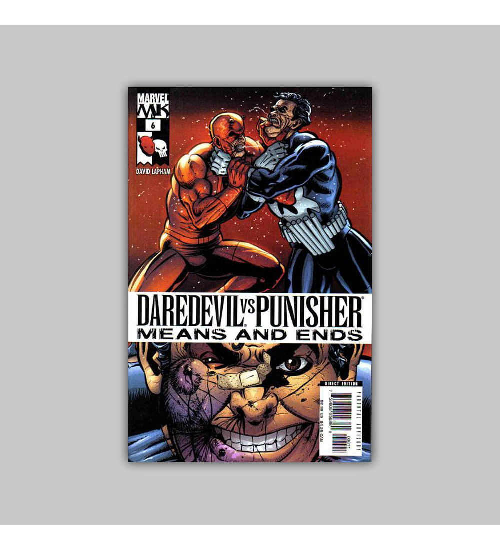 Daredevil Vs. Punisher: Means and Ends 6 2006