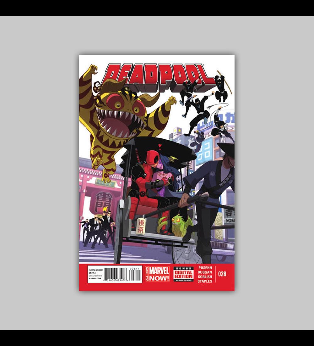 Deadpool (Vol. 3) 28 2014
