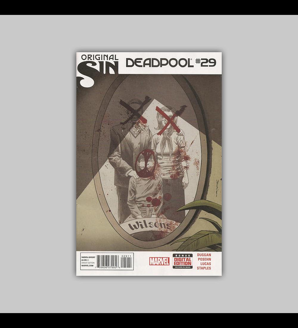 Deadpool (Vol. 3) 29 2014