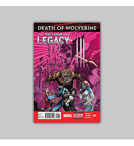 Death of Wolverine: Logan Legacy 1 2014