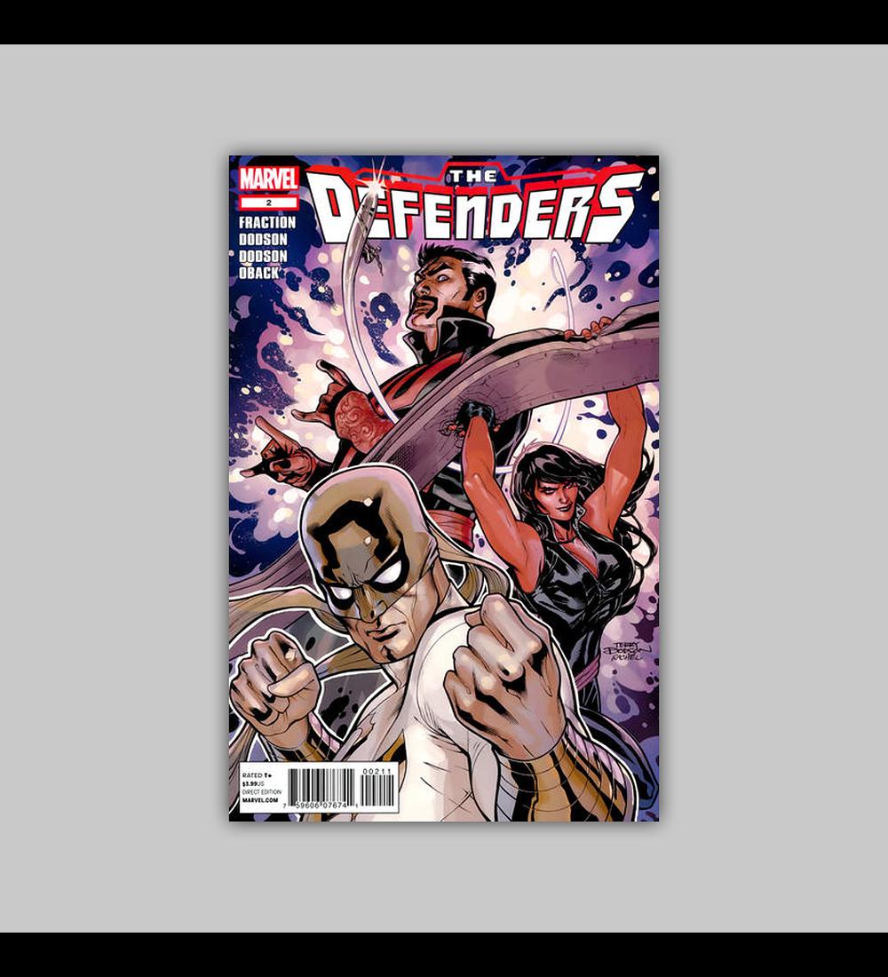 Defenders (Vol. 3) 2 2012