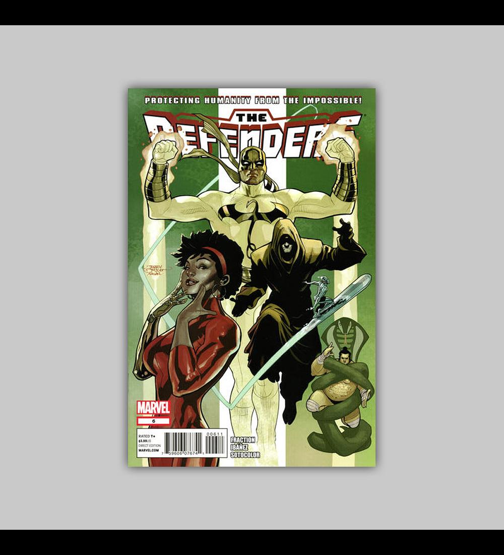 Defenders (Vol. 3) 6 2012
