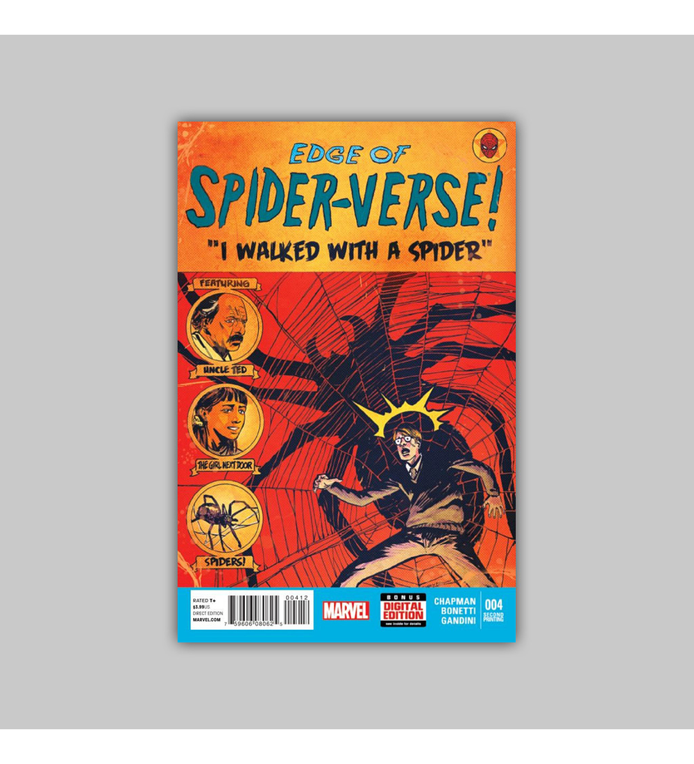 Edge of Spider-Verse 4 2nd printing 2014