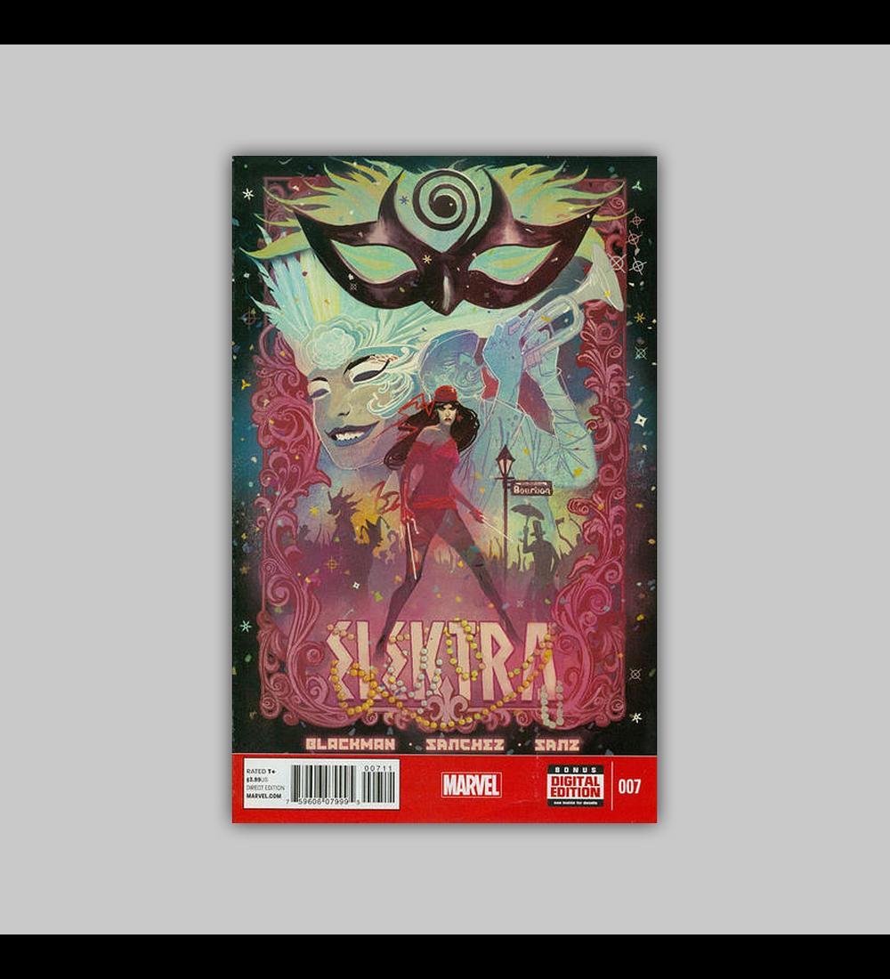 Elektra (Vol. 3) 7 2014