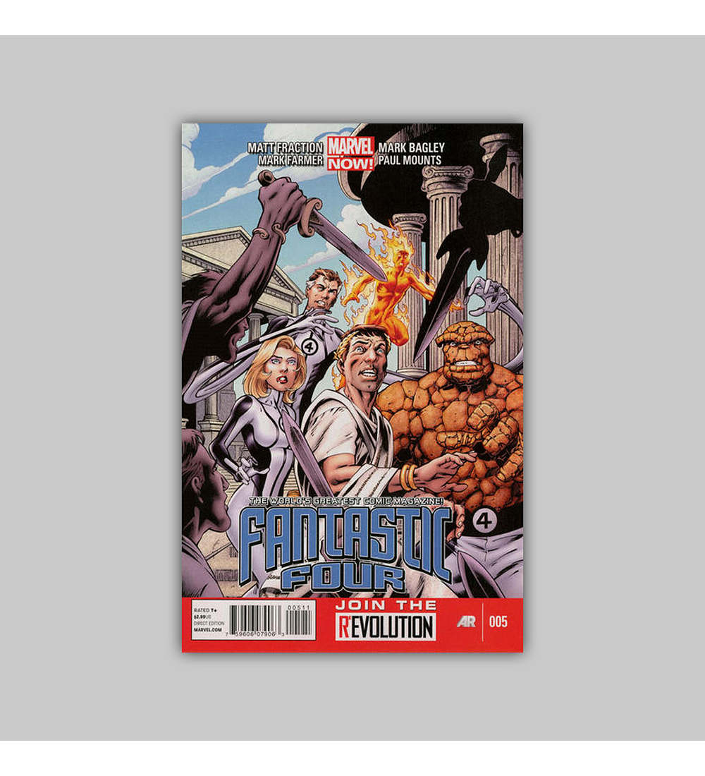 Fantastic Four (Vol. 4) 5 2013