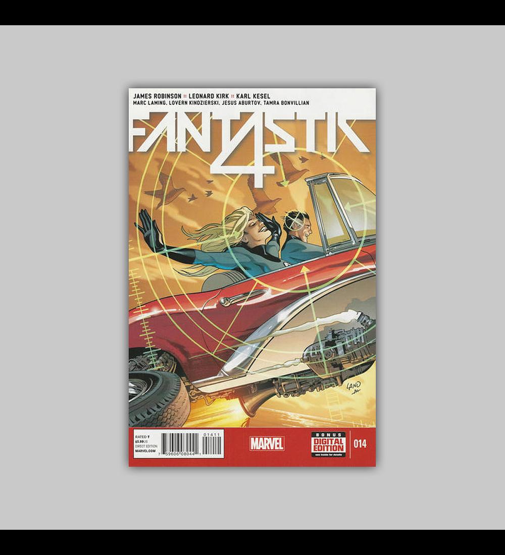 Fantastic Four (Vol. 5) 14 2015