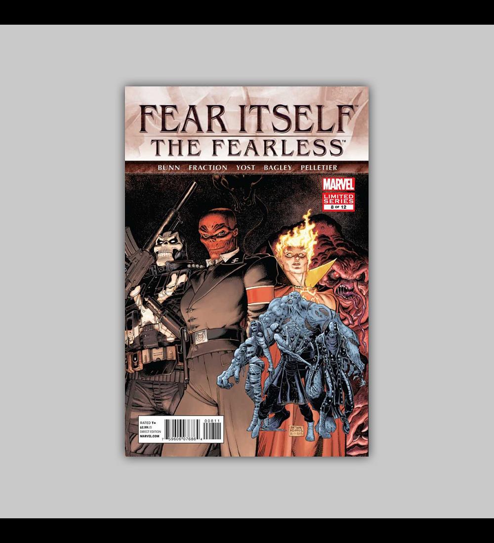 Fear Itself: Fearless 8 2012