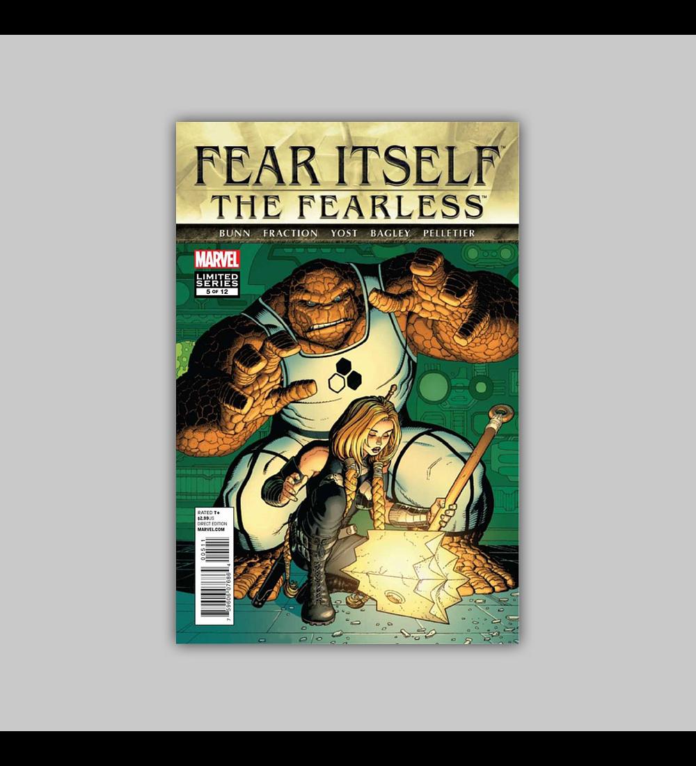 Fear Itself: Fearless 5 2012