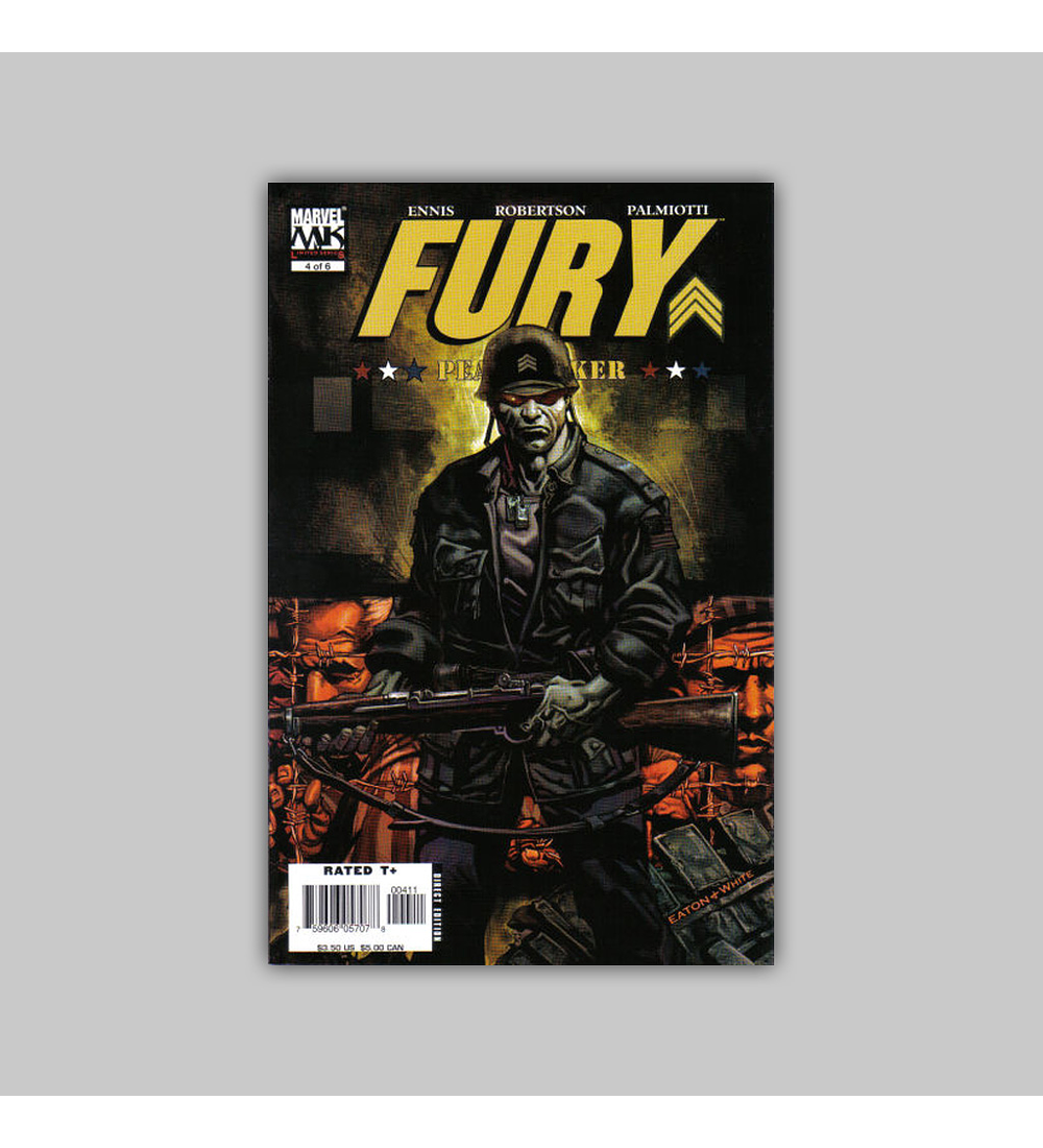 Fury: Peacemaker (complete limited series) 2006