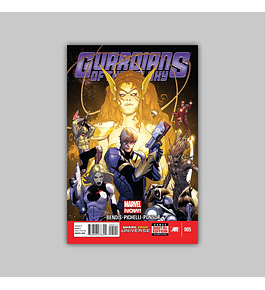 Guardians of the Galaxy (Vol. 3) 5 2013
