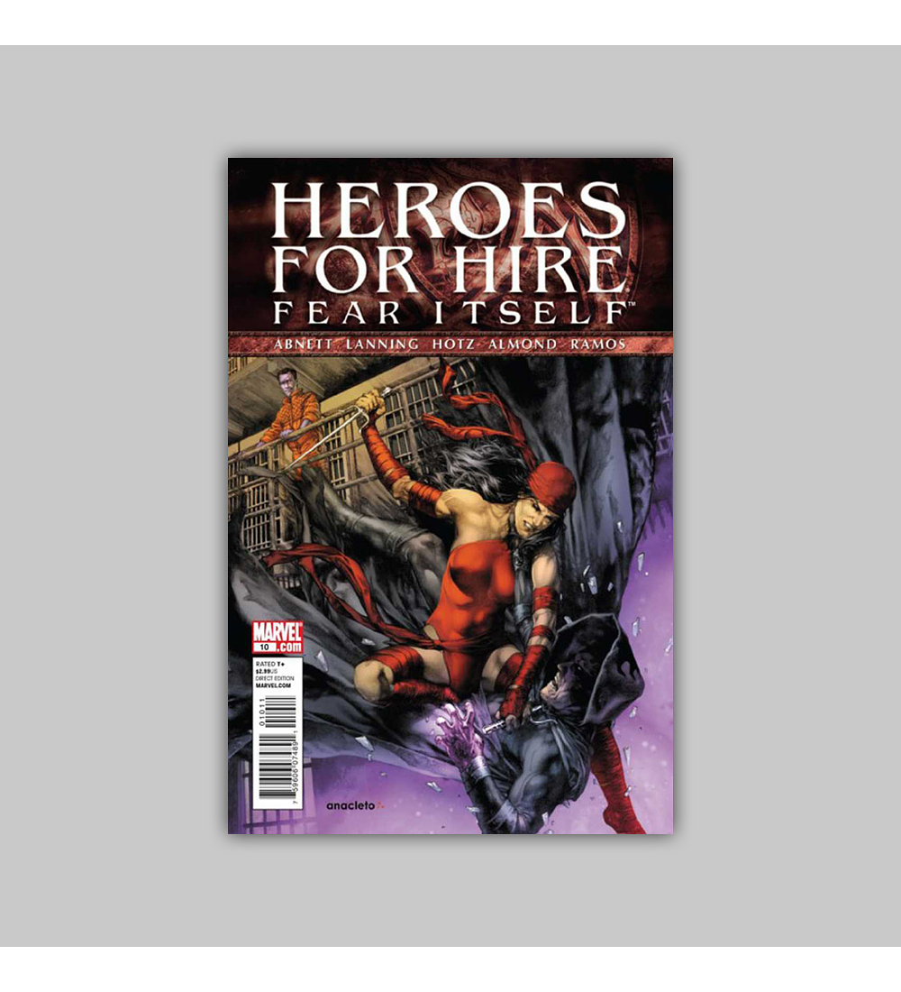 Heroes for Hire (Vol. 3) 10 2011